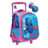 Rolling trolley native Princess Sofia 31 CM - satchel bag