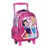 Sac à roulettes trolley maternelle Princesse Disney Cendrillon 31 CM - Cartable