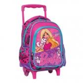 Sac à roulettes trolley Barbie Friends 31 CM - Cartable