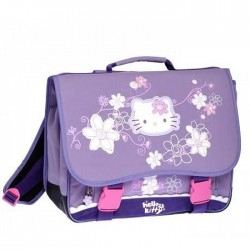 Mochila escolar Hello Kitty purple gama alta 38 CM