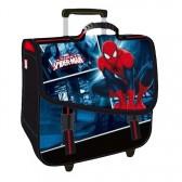 Cartable à roulettes Spiderman Ultimate Black Trolley 38 CM Haut de gamme