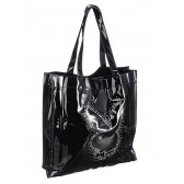 Playboy Black woman handbag