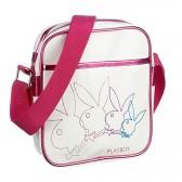 Playboy witte Sling bag