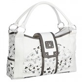 Playboy white woman handbag