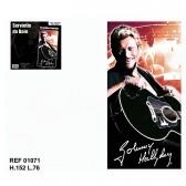 Drap de bain Johnny Hallyday Guitare
