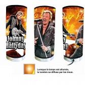 Guitarra de Johnny Hallyday de lámpara