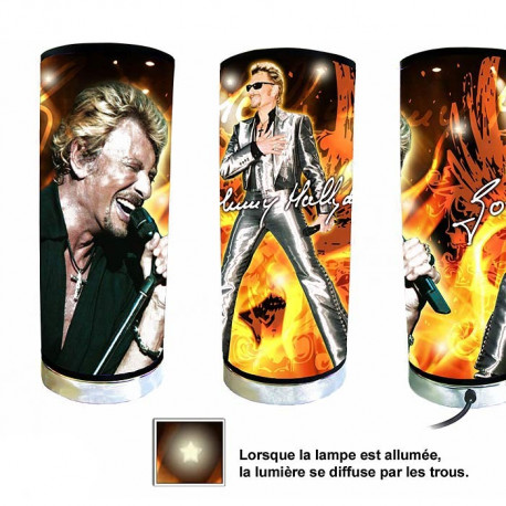 Johnny Hallyday guitar-tube