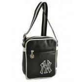 NY Yankees 20 CM black bag style leather