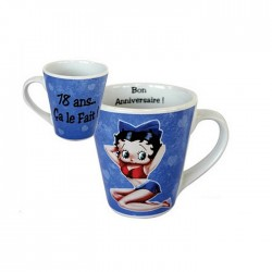 Mug Betty Boop 18 anni