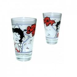 Conische glas Betty Boop ster