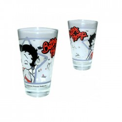 Verre  conique Betty Boop étoile
