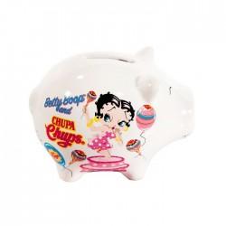 Salvadanaio maiale Betty Boop Chupa Chups