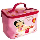 Trousse de toilette Betty Boop rose