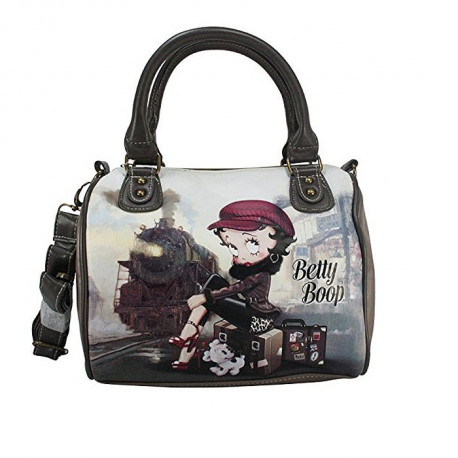 Handtasche Betty Boop Barrel Zug