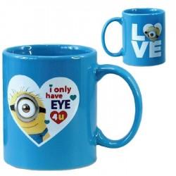 Blue mug Minions