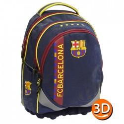 Backpack FC Barcelona ergonomic 45 CM premium - 2 cpt - FCB