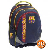 Sac à dos FC Barcelone Ergonomique 45 CM Haut de Gamme - 2 cpt - FCB