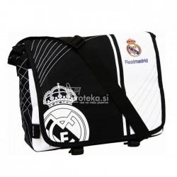 Real Madrid black satchel bag and white 34 CM