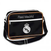 Tasche Schultertasche Real Madrid schwarz glänzend 35 CM
