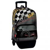 Sac à dos à roulettes Moto GP Warm 43 CM trolley Haut de Gamme - Cartable