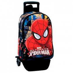 Rugzak skateboard Spiderman Ultimate 43 CM trolley premium - Binder