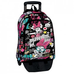 Backpack skateboard Minnie 42 CM newspaper trolley premium - Binder