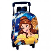 Sac à dos à roulettes maternelle Princesse Bella 28 CM trolley - Cartable