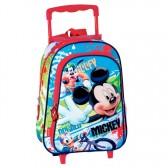 Sac à dos à roulettes maternelle Mickey Mouse 37 CM trolley - Cartable