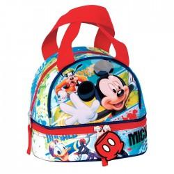 Sac goûter Mickey Mouse - sac déjeuner