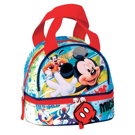 Sac goûter isotherme Mickey Mouse