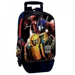 Mochila con ruedas Trolley escolar Transformers 43 CM - Bolsa