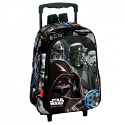Sac à dos à roulettes maternelle Star Wars Imperial 37 CM trolley - Cartable