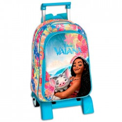 Rolling Backpack Vaiana Disney 41 CM - Premium Trolley