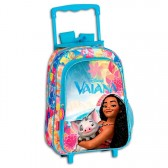 Sac à dos à roulettes Vaiana Disney 37 CM trolley - Cartable