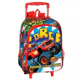 Sac à dos à roulettes maternelle Blaze Limit 37 CM trolley - Cartable