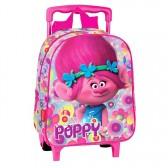 Sac à roulettes Trolls Poppy Happy 28 CM maternelle