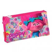 Trousse Trolls Poppy Happy - 3 compartiments