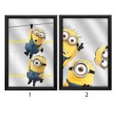 miroir minions : 2 modeles : 3+3