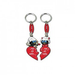 Calimero you & me keychain