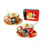 Betty Boop coffee service by 2