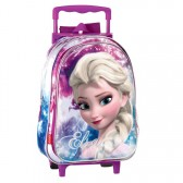Sac à dos à roulettes Frozen La reine des neiges Shinning 37 CM trolley - Cartable