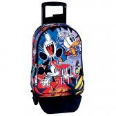 Sac à dos à roulettes Mickey 42 CM Madness trolley Haut de Gamme - Cartable