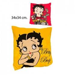 Cojín cuadrado de Betty Boop