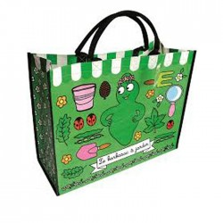 Grand sac shopping barbapapa