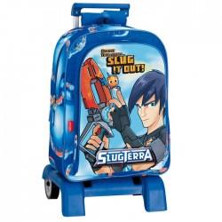 Backpack skateboard Slugterra Action 43 CM trolley premium - Binder
