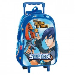 Rolling Maternal Backpack Slugterra Action 37 CM - Trolley