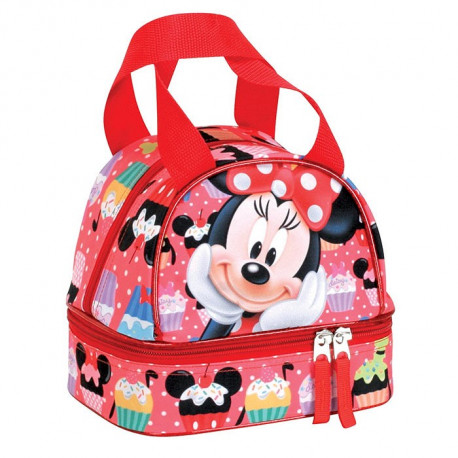 Sac goûter isotherme Minnie Colours