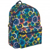 Smiley Color 45 CM - 2 Cpt backpack