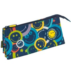Trousse Smiley Color 23 CM - 3 compartiments