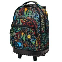 Rolling bag 45 CM Smiley Street high-end - 2 cpt - Binder